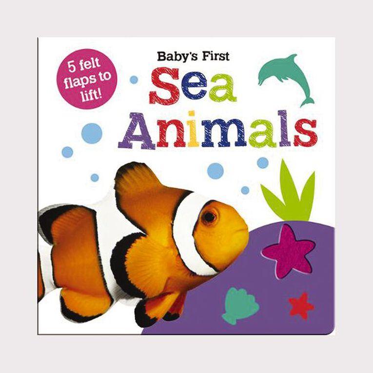 Baby's First Felt Flap Book: Sea Animals, , hi-res