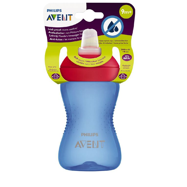 Avent My Grippy Soft 300ml 9m+ Assorted, , hi-res