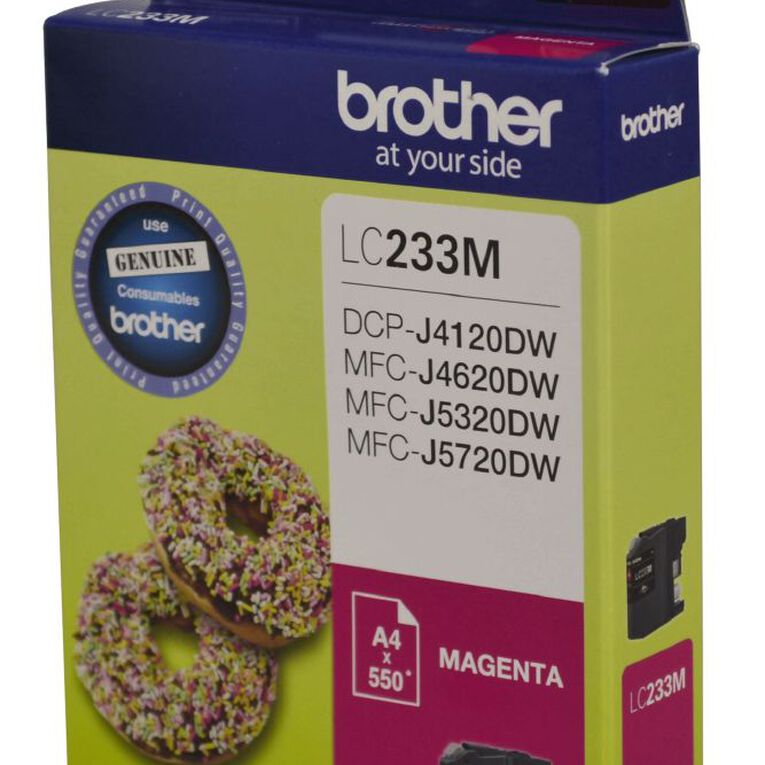 Brother Ink LC233 Magenta (550 Pages), , hi-res