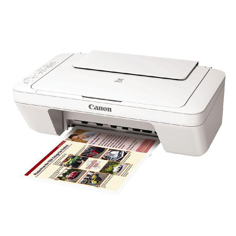 Canon PIXMA MG3060 All-in-One Printer White, , hi-res