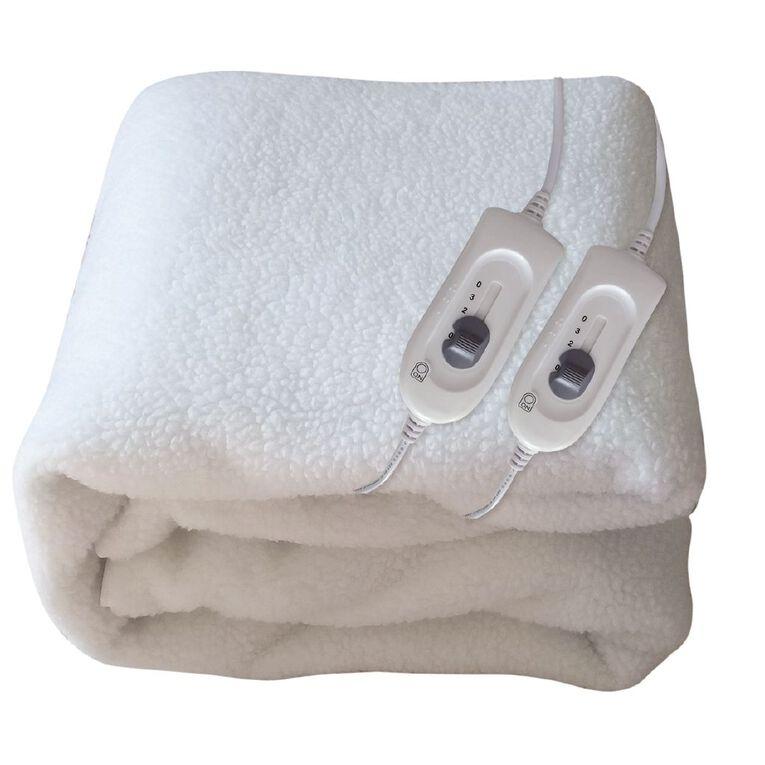 Kensington Electric Blanket Fitted Fleecy Queen, , hi-res
