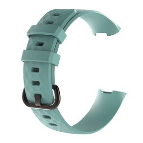Swifty Teal Replacement Strap For Fitbit Charge 3 & 4 Size Large