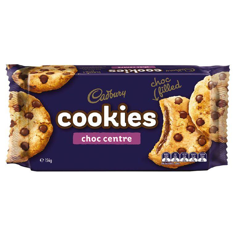 Cadbury Choc Centre Cookies 156g, , hi-res