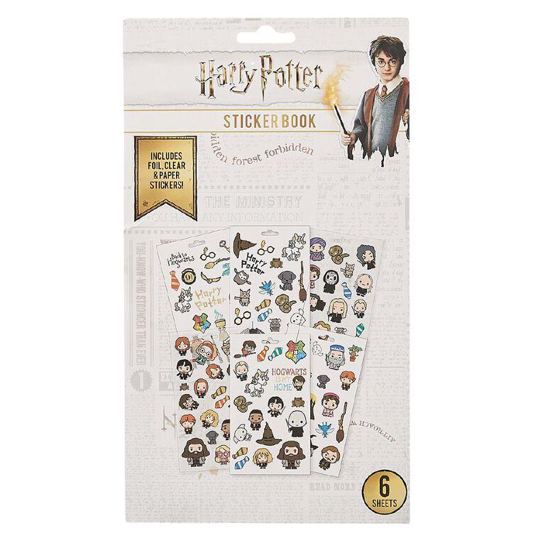 Harry Potter Sticker Book 6 Sheets, , hi-res