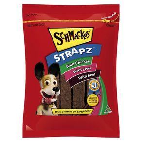 Schmackos Strapz Dog Treats Variety Pack 500g