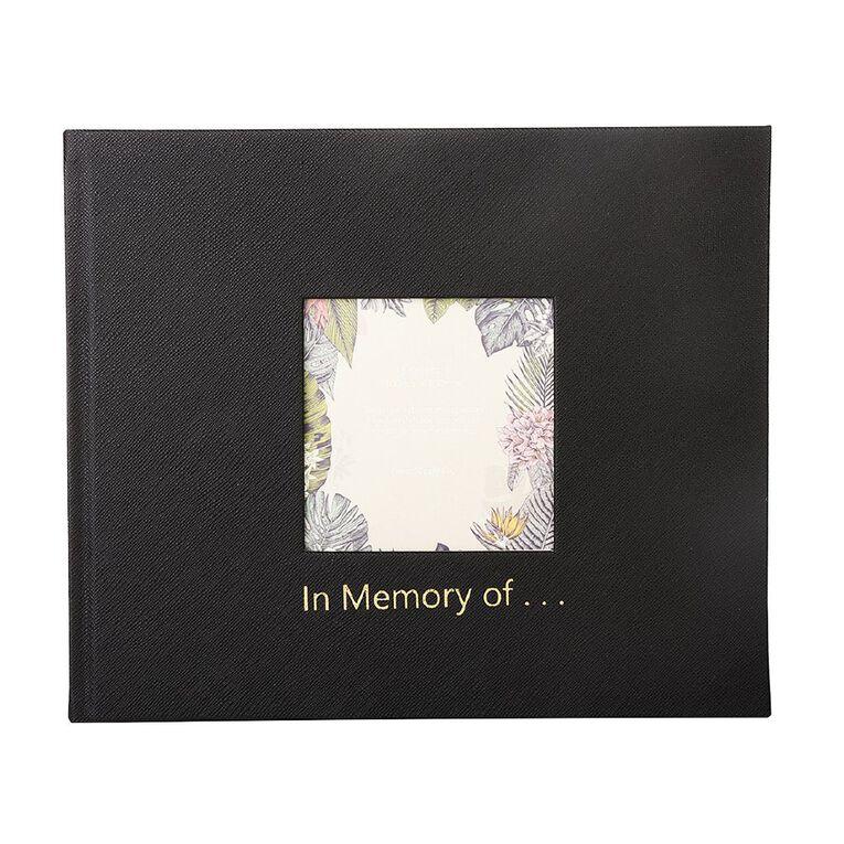 Paper Co Citta Memoriam Book Black, , hi-res
