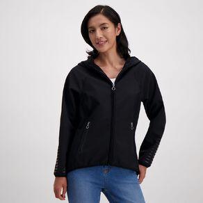 Active Intent Women's Bonded Drop Hem Jacket