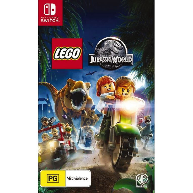 Nintendo Switch Lego Jurassic World, , hi-res