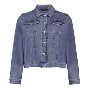 H&H Plus Women's Denim Jacket