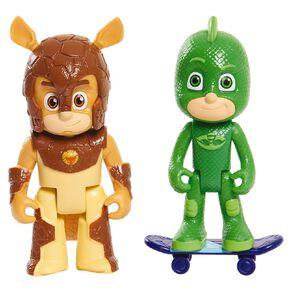 PJ Masks 2 Pack Light Up Hero Vs Villain Series 2 Assorted