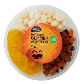 Nice Halloween Gummies Asst 500g