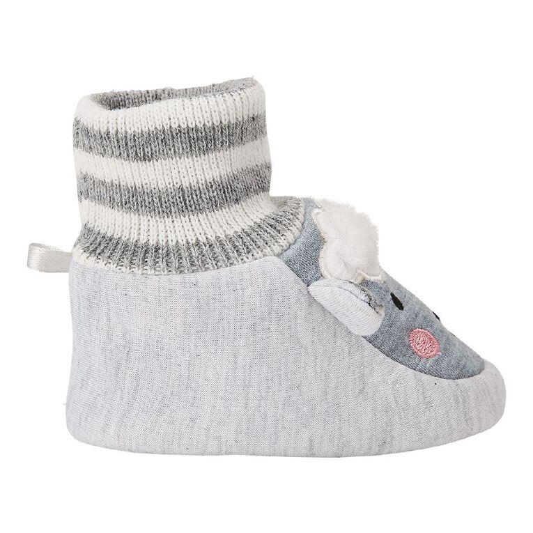 Young Original Infants' Snuggle Shoes, White, hi-res