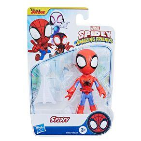 Spider-Man Spidey and Friends Hero Figure 4 Inch Assorted