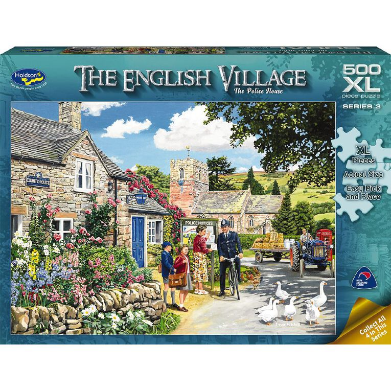 The English Village S2 500 Piece XL Puzzle Assorted, , hi-res