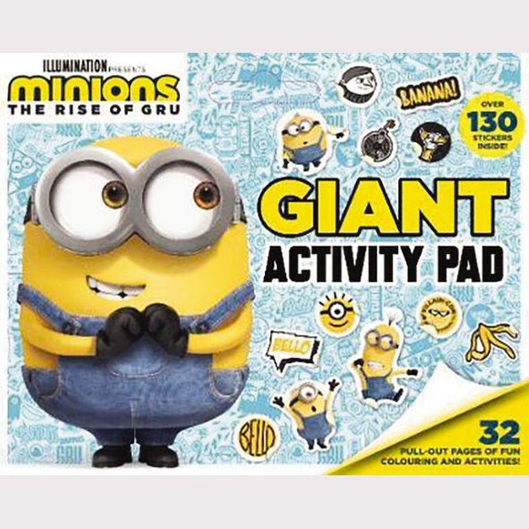 Minions #2 Giant Activity Pad, , hi-res