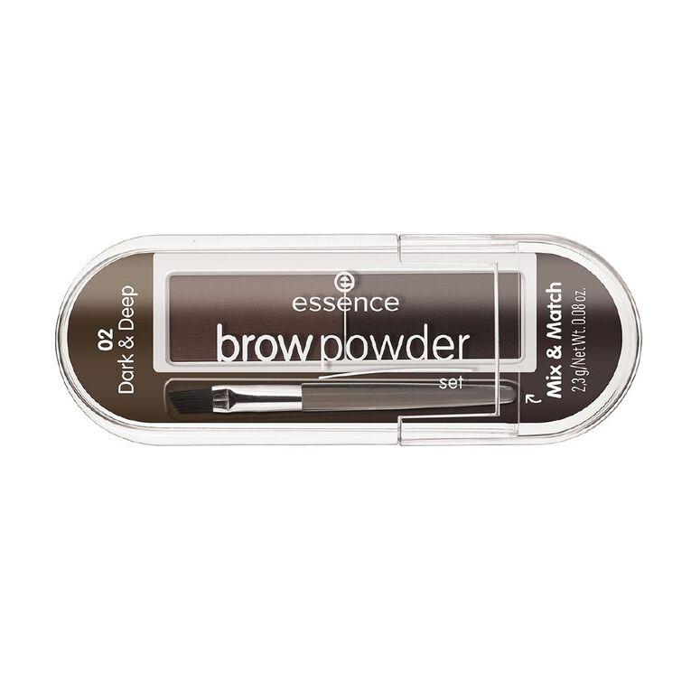 Essence brow powder set 02, , hi-res image number null