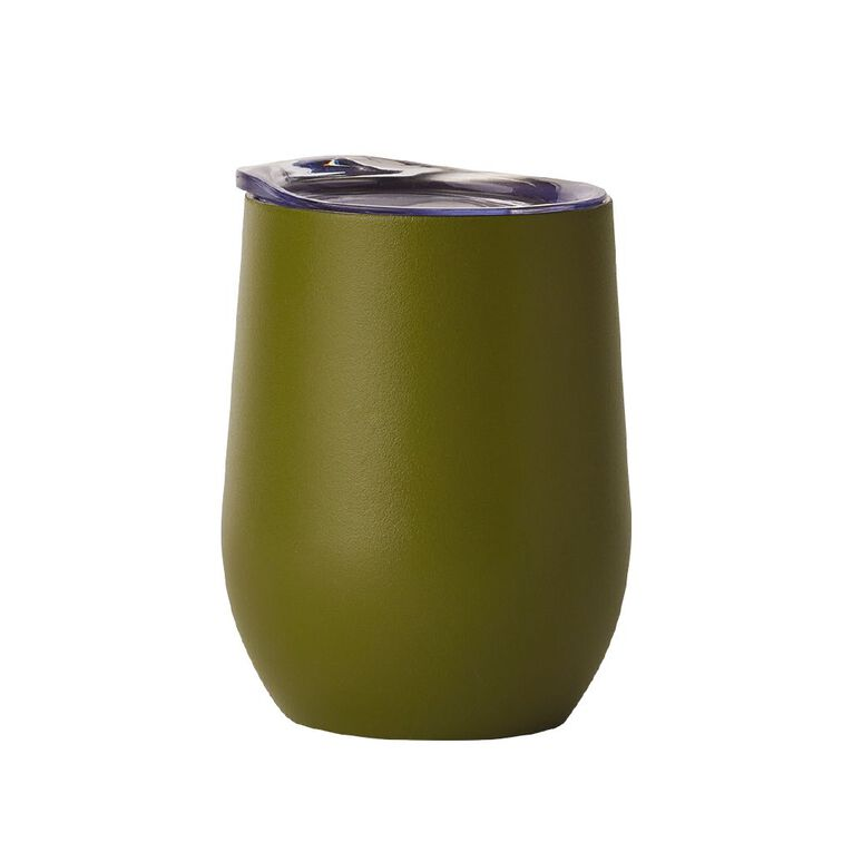 Living & Co Stainless Steel Wine Cup Peridot, , hi-res