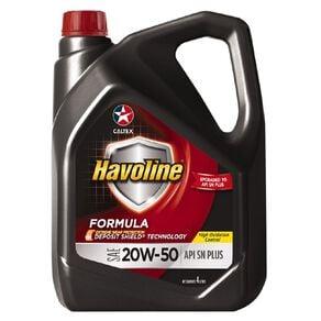 Caltex Havoline Formula 20W-50 Engine Oil 4L