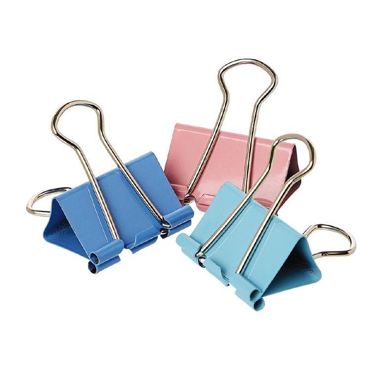 WS Foldback Clips 32mm 6 Pack Colour, , hi-res