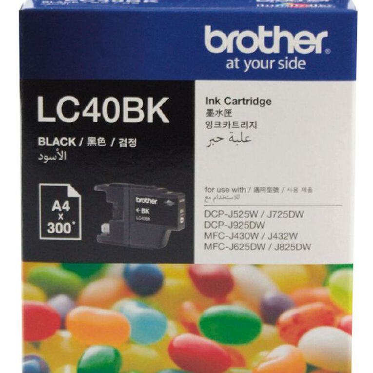 Brother Ink LC40 Black (300 Pages), , hi-res