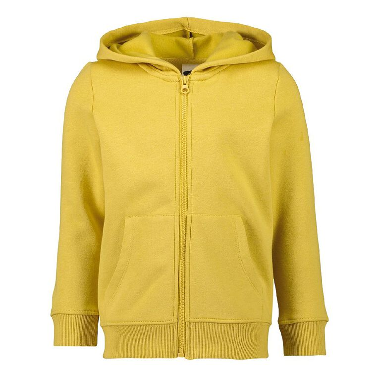 Young Original Zip-Thru Sweatshirt, Yellow Mid, hi-res