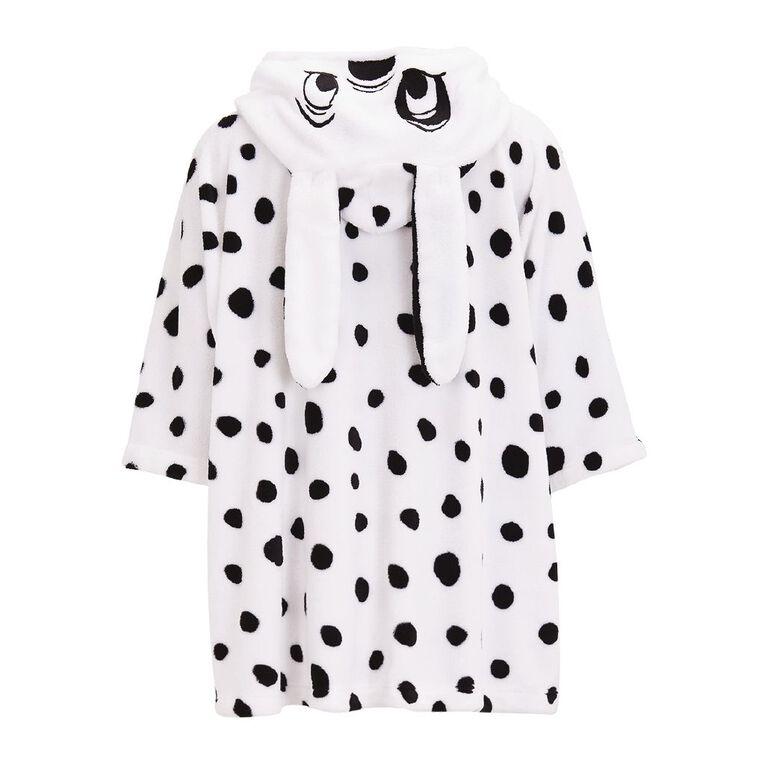 Disney Women's 101 Dalmatians Poncho, White, hi-res
