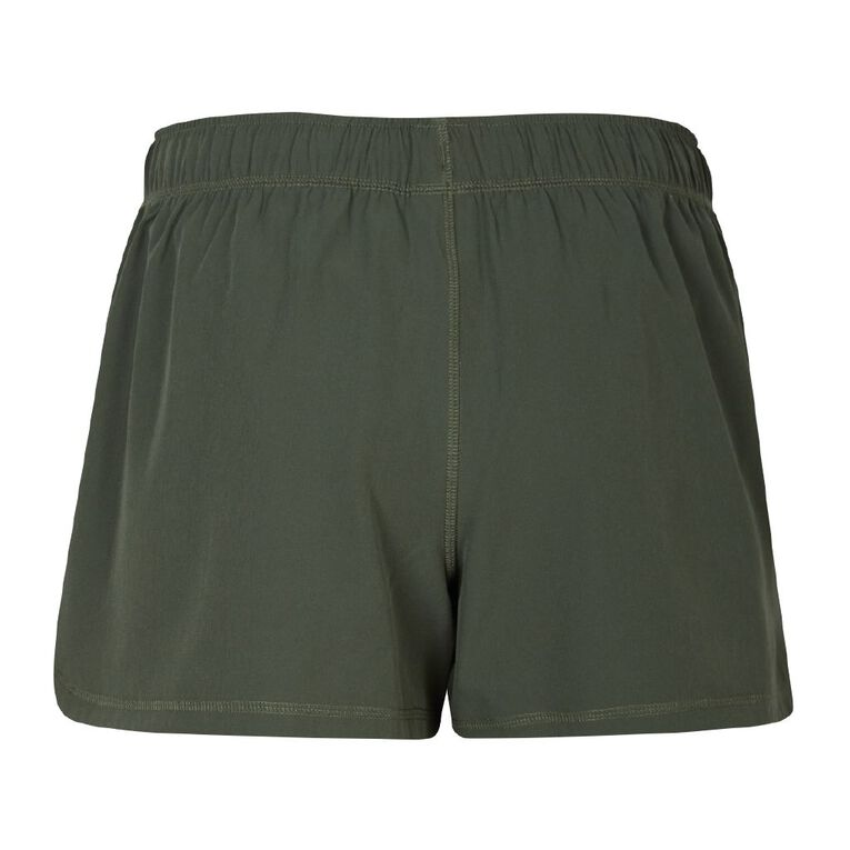 Active Intent Women's 2-in-1 Shorts, Green Dark, hi-res