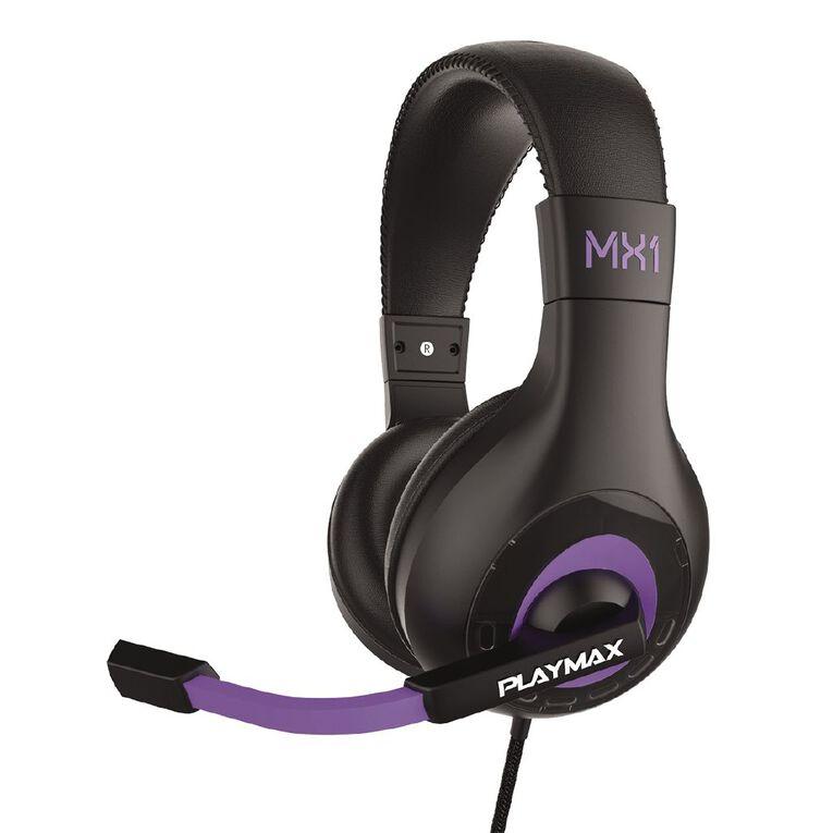 Playmax Headset MX1 Universal Purple, , hi-res