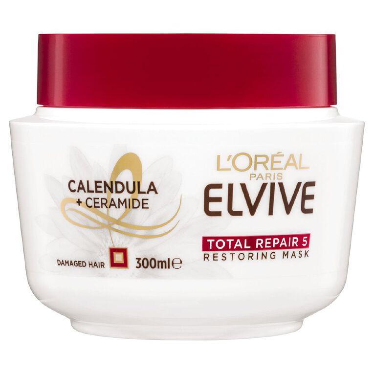 L'Oreal Paris Elvive Total Repair 5 Masque 300ml, , hi-res