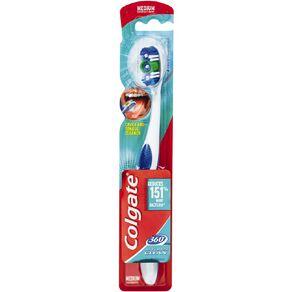 Colgate Toothbrush 360 Degree Medium Assorted