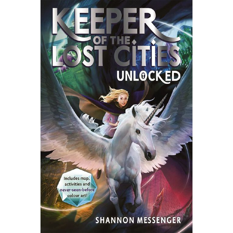 Keeper of Lost Cities #8.5 Unlocked by Shannon Messenger, , hi-res