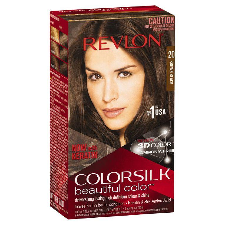 Revlon Colorsilk Brown/Black 20, , hi-res