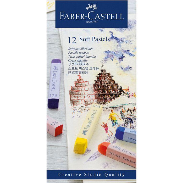 Faber-Castell Soft Pastels 12 Pack, , hi-res