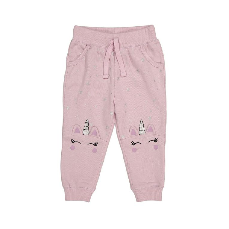 Young Original Toddler Trackpants, Pink Mid, hi-res