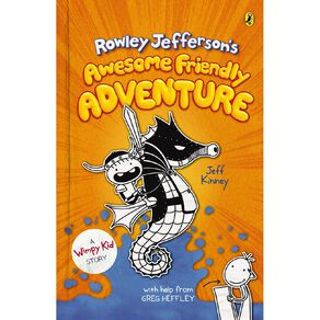 Diary of an Awesome Friendly Kid #2 by Jeff Kinney