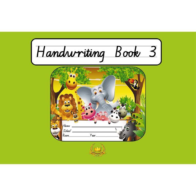 GT Handwriting Book 3 Green, , hi-res