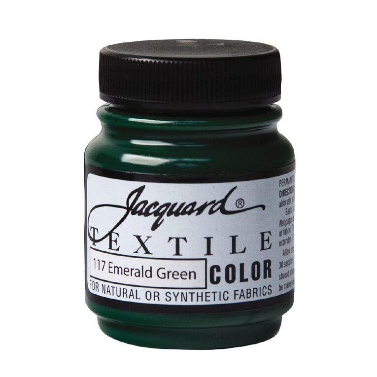 Jacquard Textile Colours 66.54ml Emerald Green, , hi-res