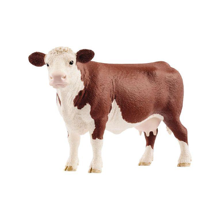 Schleich Hereford Cow, , hi-res