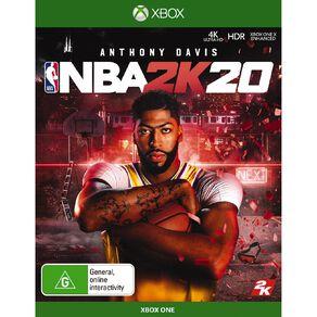 XboxOne NBA 2K20
