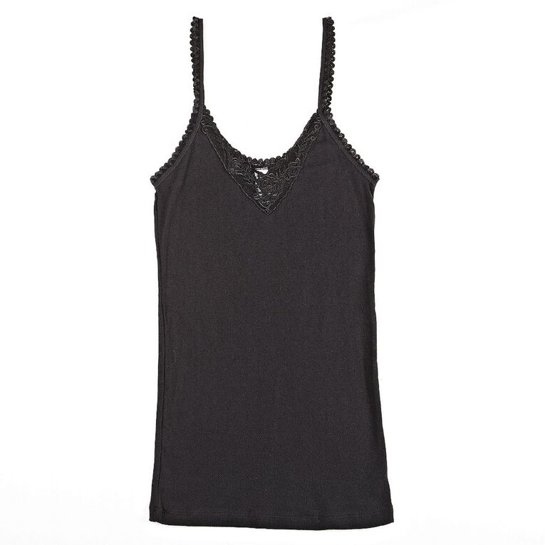H&H Women's Vest Raindrop, Black, hi-res