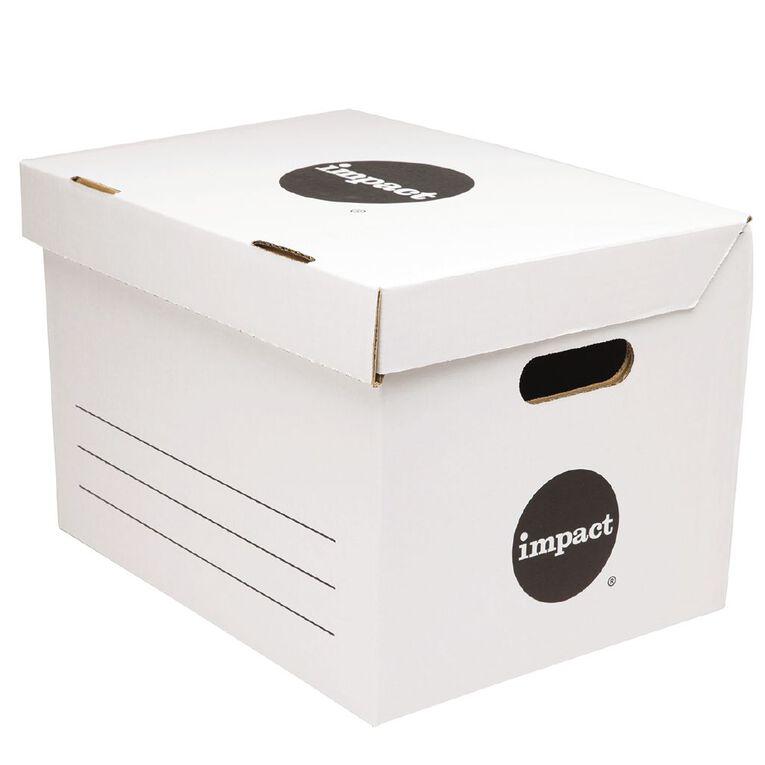 Impact Archive Box White, , hi-res
