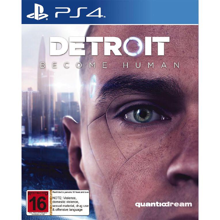 PS4 Detroit Become Human, , hi-res