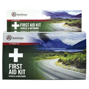 Autohaus Vehicle & Outdoors First Aid Kit 43 Piece