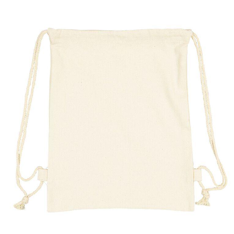 Uniti DIY Canvas Drawstring Bag, , hi-res