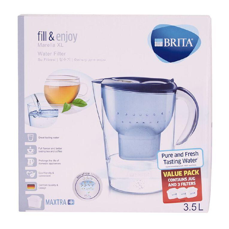 Brita Marella XL Jug With 3Mx+ Filters, , hi-res