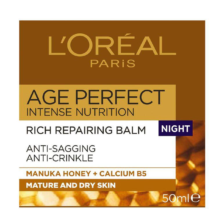 L'Oreal Paris Age Perfect Intense Nutrition Night Cream 50ml, , hi-res