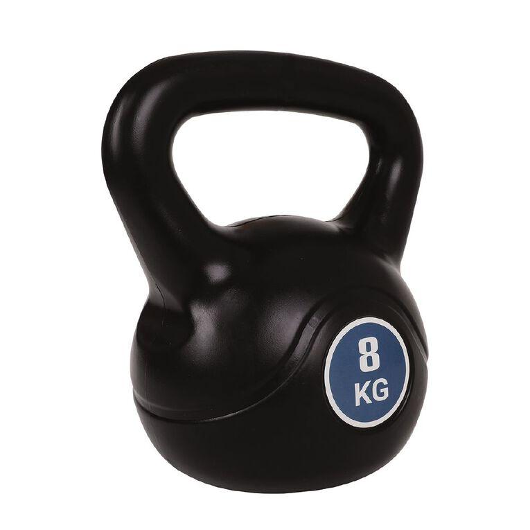 Active Intent Fitness Plastic Kettlebell 8kg, , hi-res