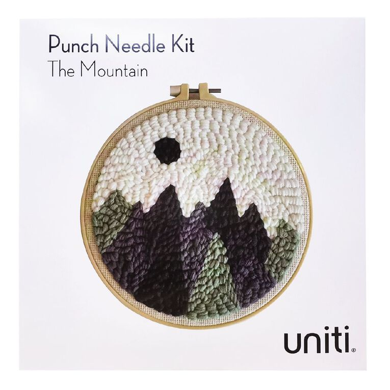 Uniti Punch Needle Kit The Mountain, , hi-res