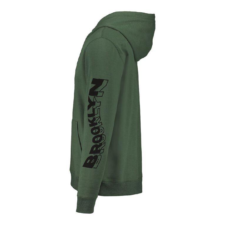 Garage Men's Hooded Fresh Sweatshirt, Khaki, hi-res