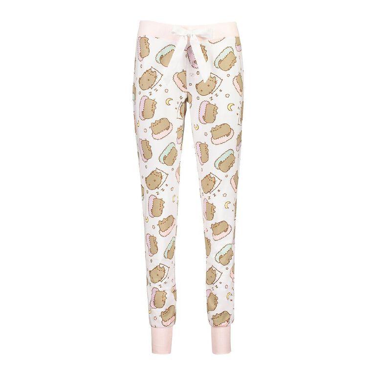 Pusheen Women's Pants, White, hi-res